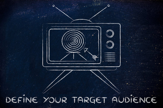 define your target audience, concept of tv ads