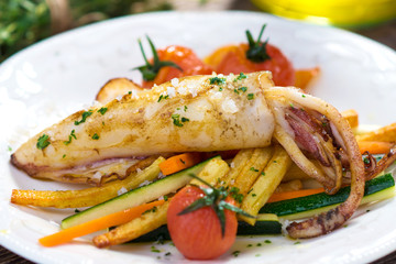 Grilled Adriatic Squid
