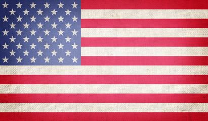 Grunge USA Flag