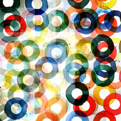 abstract graphic design circles pattern background