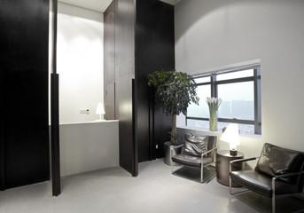 Modern Office reception area