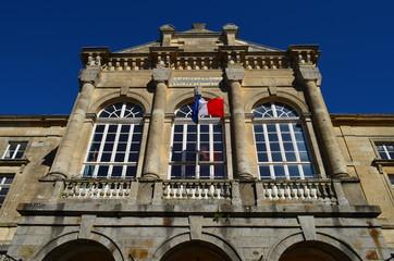 Hôtel de ville de Domfront (Orne-Normandie)