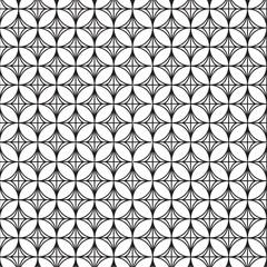 Seamless pattern. Abstract illustration.