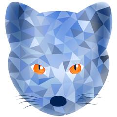 fox, vector illustration