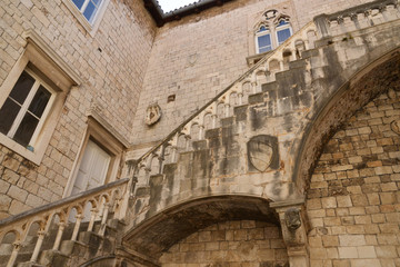 Croatia, old and picturesque picturesque city of Trogir