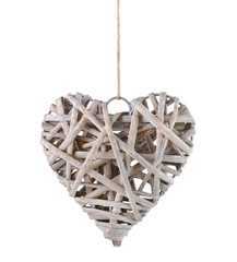 Antique heart shaped ornament