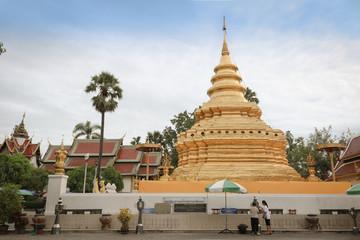 Wat Phradhatu Sri Chom Tong Voravihara Chiangmai Thailand