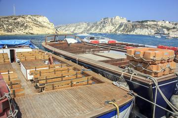 Isole tremiti, sopra la barca