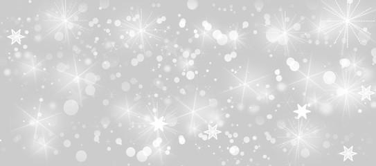 Stern Sterne Weihnachten Silber Grau