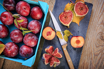 figs and plum
