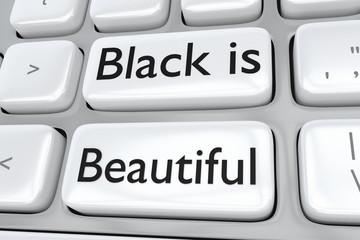 Black is Beautifl concept