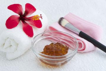 Face Skin Care - Honey Gel Mask