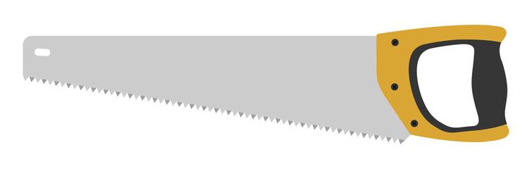Hand saw tool. No outline