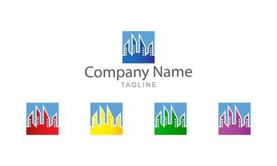 Logo Vector - Building City