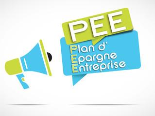 mégaphone : PEE