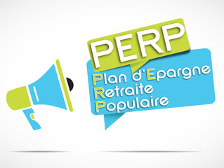 mégaphone : perp