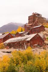 Wrangell St Elias Kennecott Mines Concentration Mill Alaska Wild