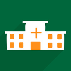 Web icons modern design for mobile shadow hospital