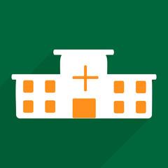 Web icons modern design for mobile shadow hospital