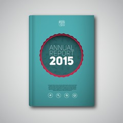 Cover or book report design