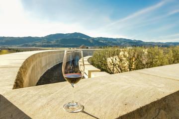 ナパバレーと赤ワイン