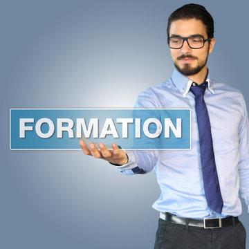 Formation -  Jeune business man