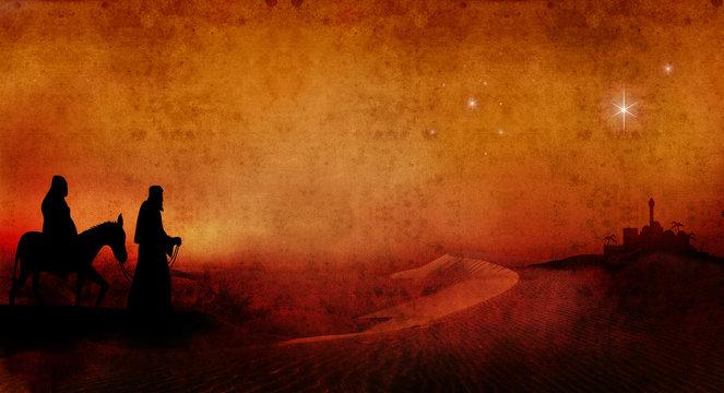 mary and joseph across desert 3