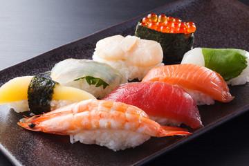 にぎり寿司の盛合せ