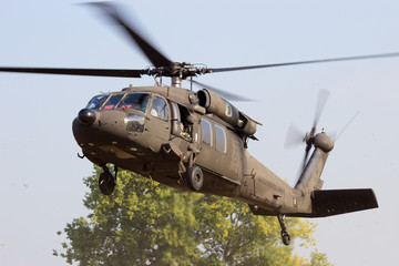 Poster Helicopter American army helicopter