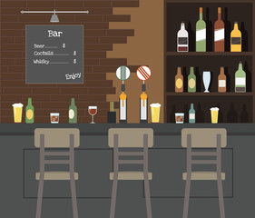 Beer Bar illustration 