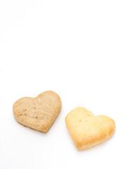 ハート型のクッキー