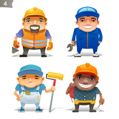 Construction professions set-2