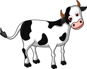 cow cartoon for you design