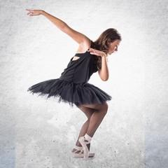 Teen girl ballerina dancer