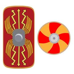 Viking and roman shield