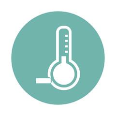 Temperature below zero icon
