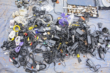 Various old electronics