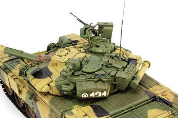 The upper part of T-90A