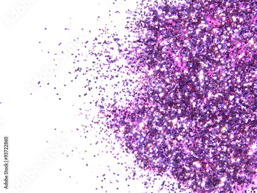 "purple glitter sparkle on white background "" stock photo and"