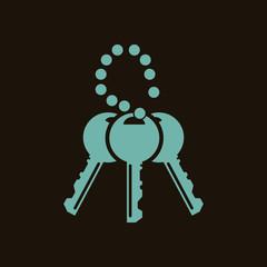 A set of keys icon