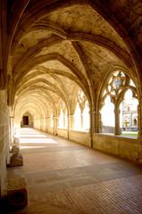 Santa Maria de Iranzu, Cloister, Navarra, Spain