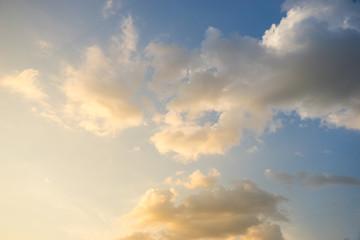 Sunset Sky Background..