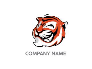 funny tiger logo