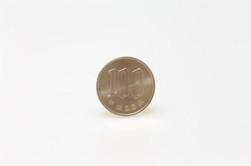 百円コイン 白背景