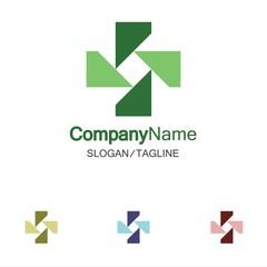 Medical logo icon vector