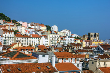 Lisbon, Portugal. Cathedral church Se