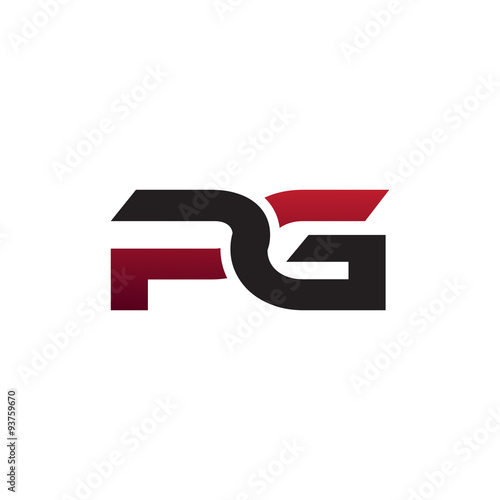 Modern Initiall Logo Pg Stock Image And Royalty Free Vector Files