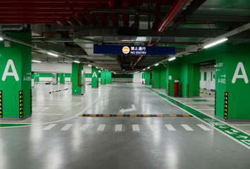 underground park entrance