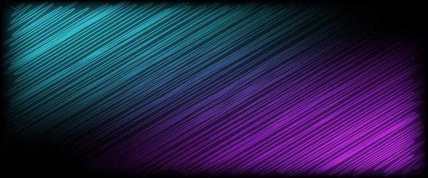 gewellte Linien - Vektor Hintergrund