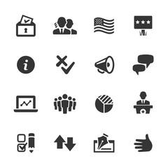 Politics Icons, Mono Series